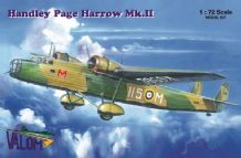 Valom 1/72 Model Kit 72057 Handley-Page Harrow Mk.II